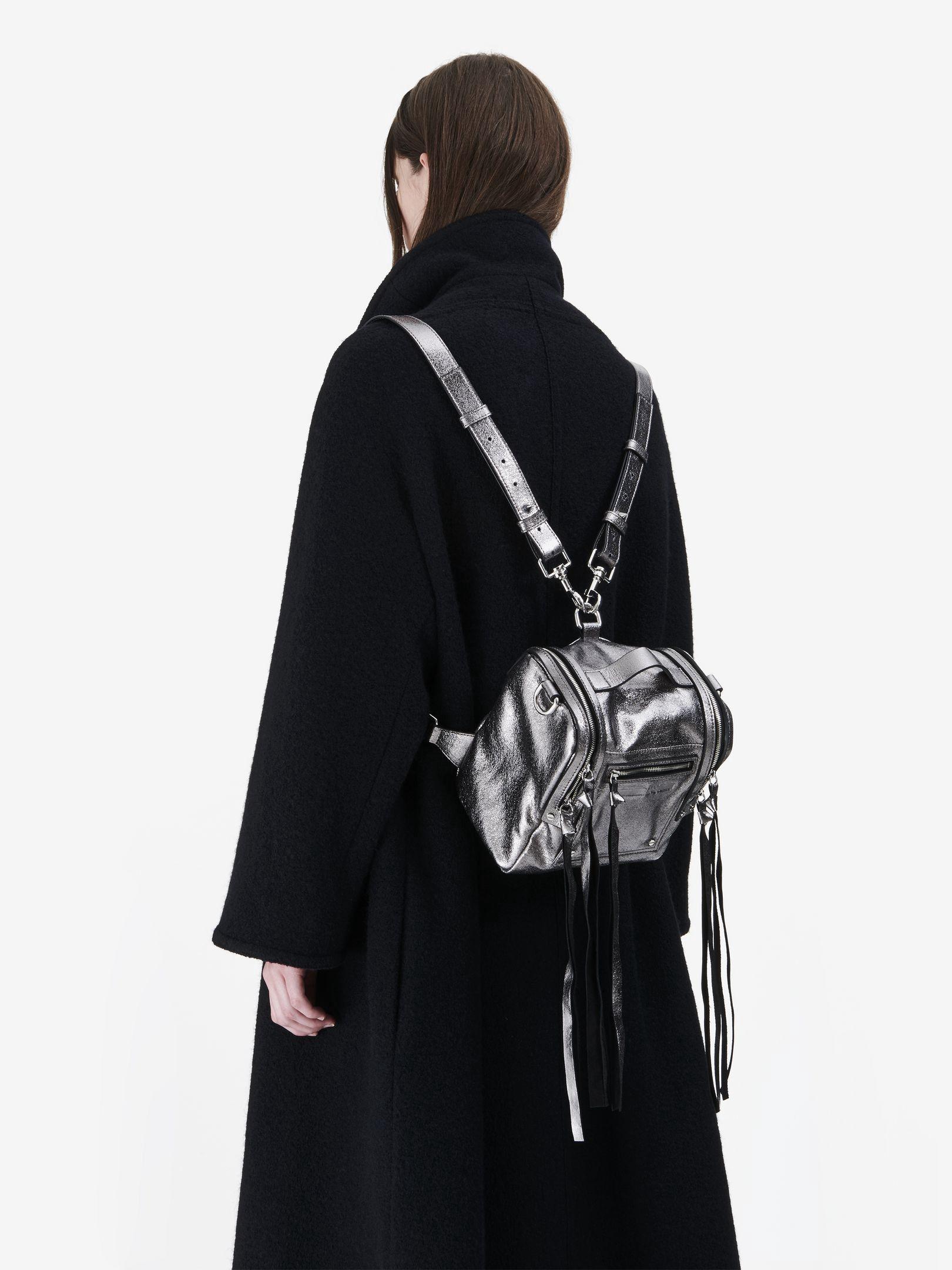 211df4605ecc8 MCQ BY ALEXANDER MCQUEEN Loveless Mini Convertible Backpack.   mcqbyalexandermcqueen  bags  leather  backpacks