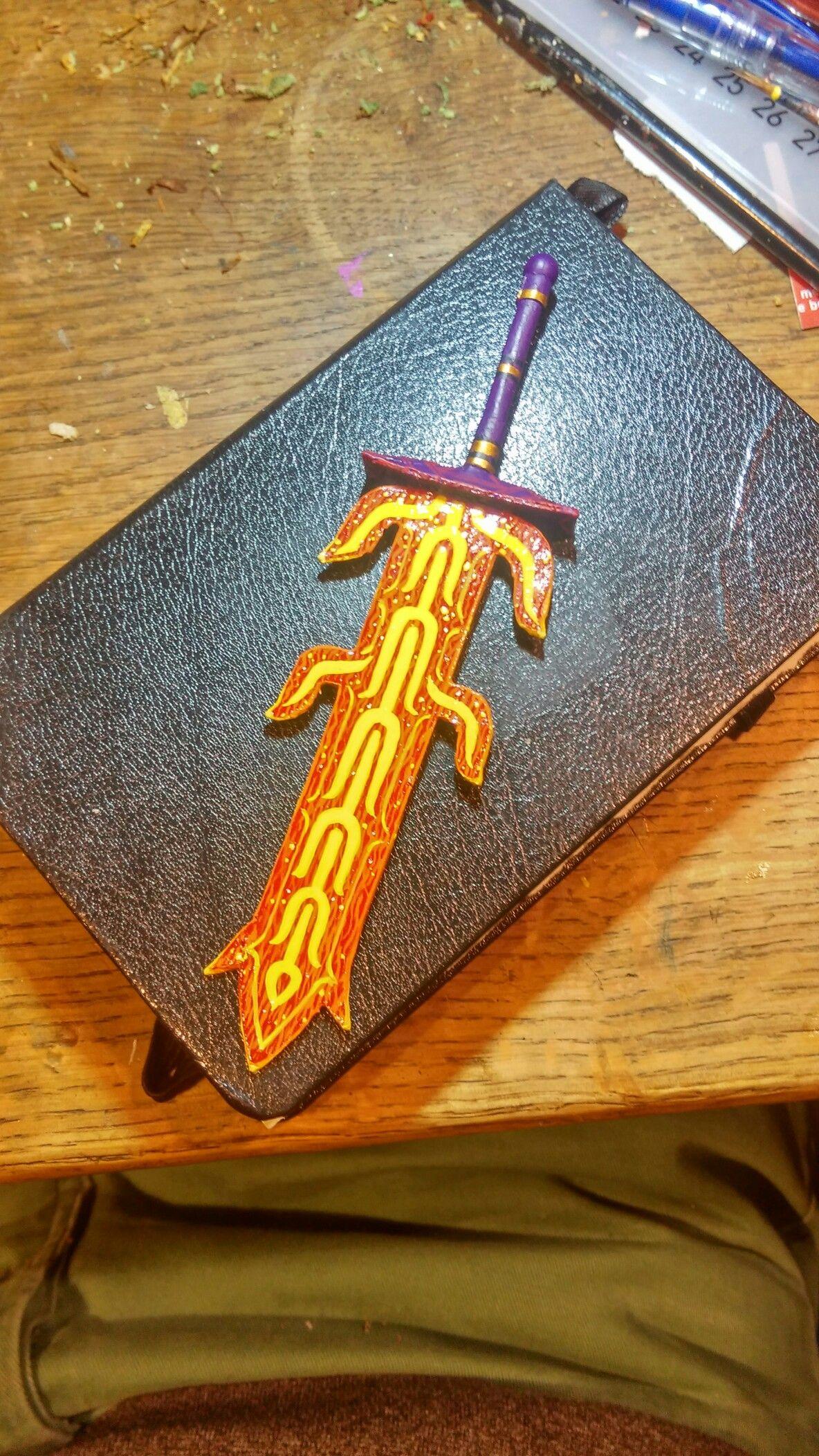 Zelda Paper Crafts Great Flameblade Breath Of The Wild Legend