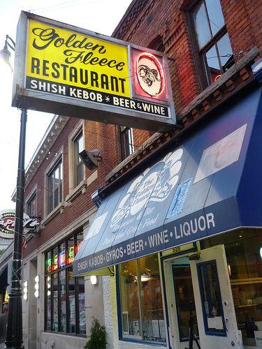 Golden Fleece Greek Restaurant 525 Monroe St Downtown Detroit