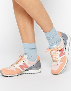 new balance rose orange