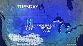 Dangerous Cold Grips Minneapolis, Chicago and Detroit Into New Year