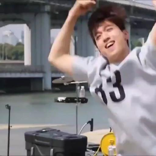 Video Sungjin Day6 S Dancing Machine Sangat Lucu Lagu Pria