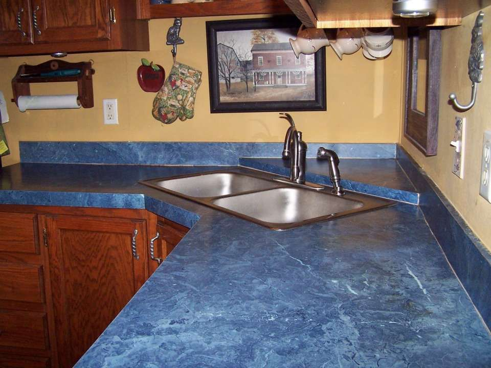 15 Gorgeous Good Kitchen Wall Color With Blue Countertops Gallery