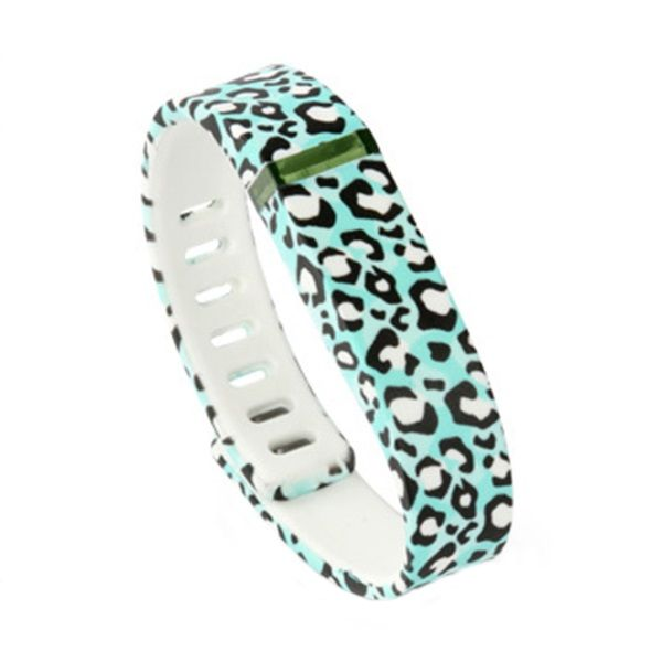 3D Printing Replacement Bands with Clasps for Fitbit Flex Wireless Activity Bracelet Sport Wristband - Blue Leopard L - https://boltron.co/product/3d-printing-replacement-bands-with-clasps-for-fitbit-flex-wireless-activity-bracelet-sport-wristband-blue-leopard-l/