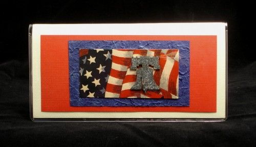 Patriotic Vehicle document wallet | Moonwater - Accessories on ArtFire
