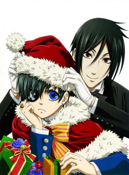 Ciel X Sebastian Christmas Render by NoraYunari on DeviantArt