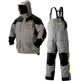 Frabill rain suit bass ice fishing rain gear size l i for Rain suits for fishing