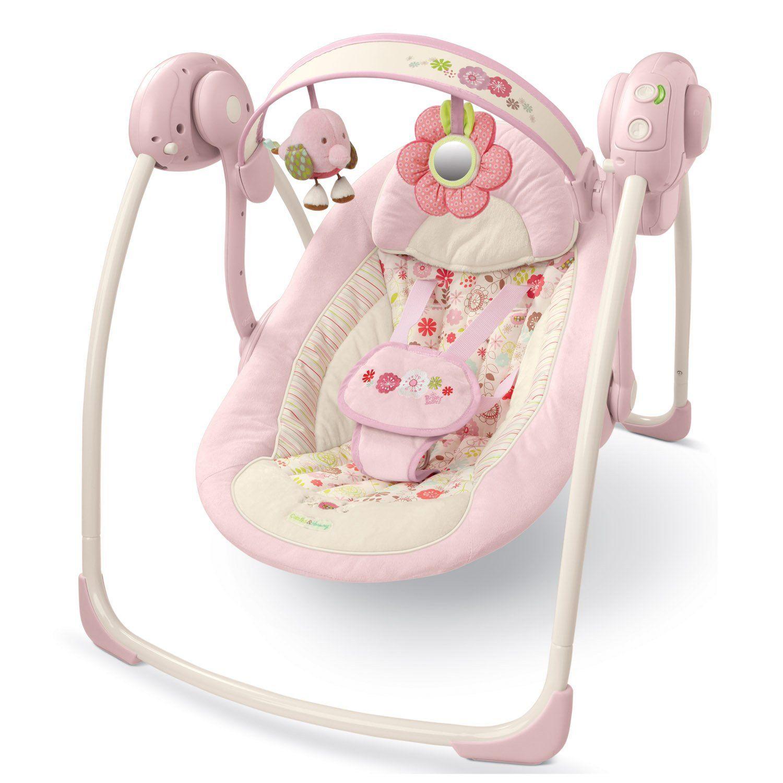 Bright Starts Comfort & Harmony Portable Swing PINK Best