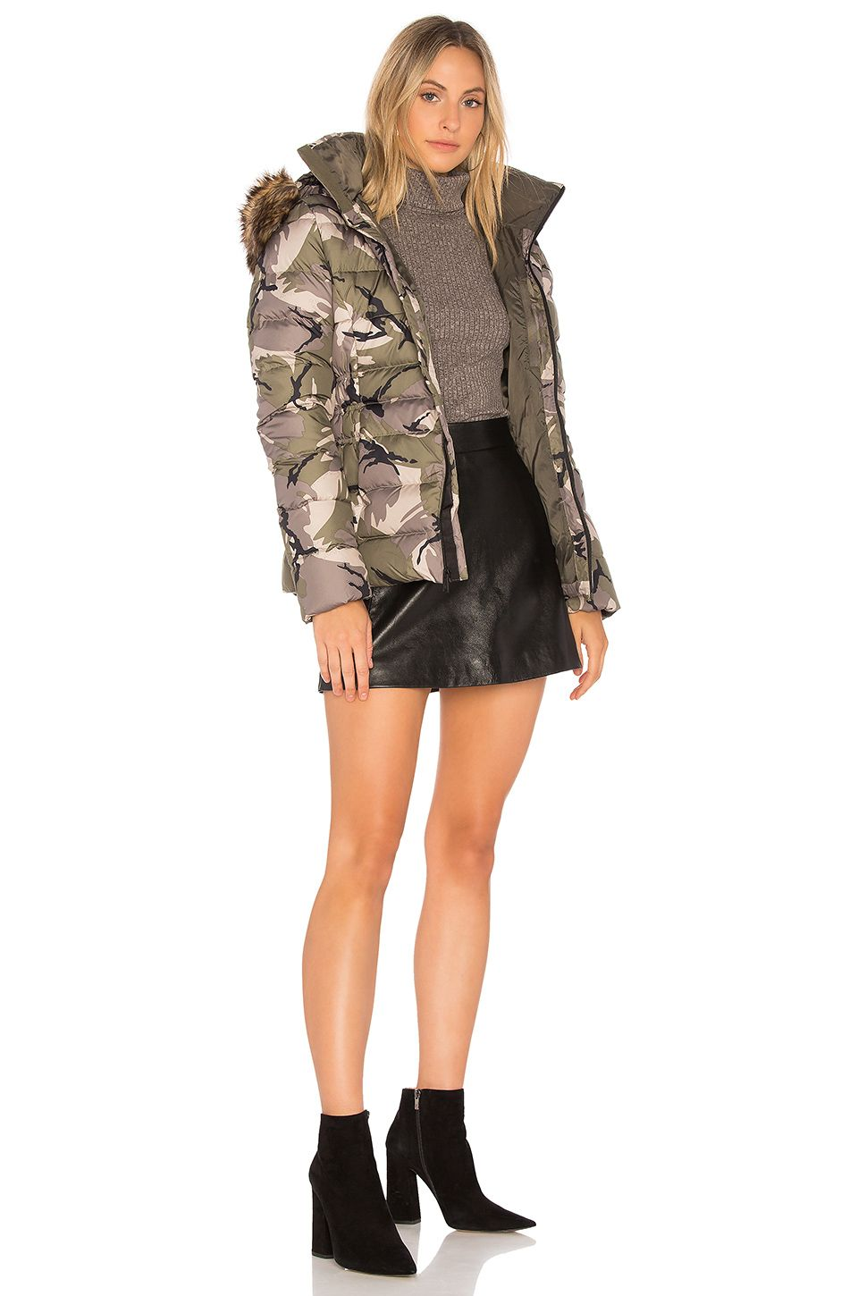 53dc005caf686 The North Face Gotham Jacket II in Burnt Olive Green Disrupt Camo ...