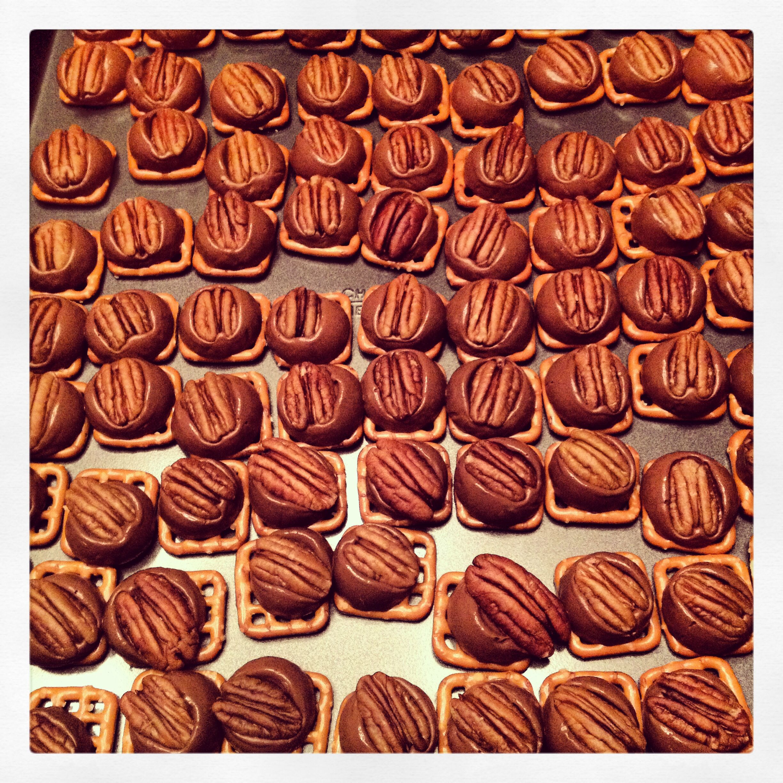 Pecan Rollo Pretzel Candies My Stuff Candy Food