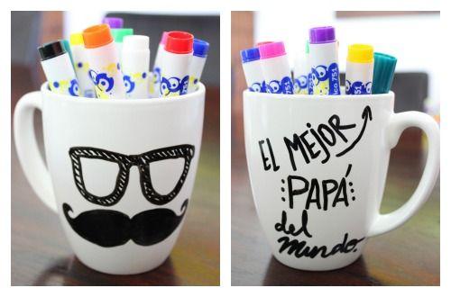 Tazas decoradas buscar con google tazas decoradas for Regalos para mi padre