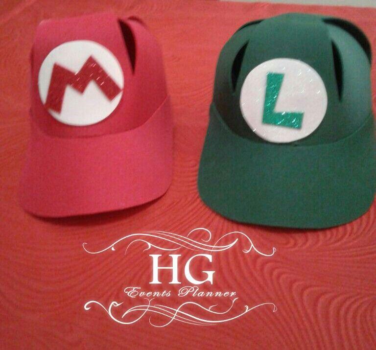 Gorra de Mario Bross en foami  59f49283ab6