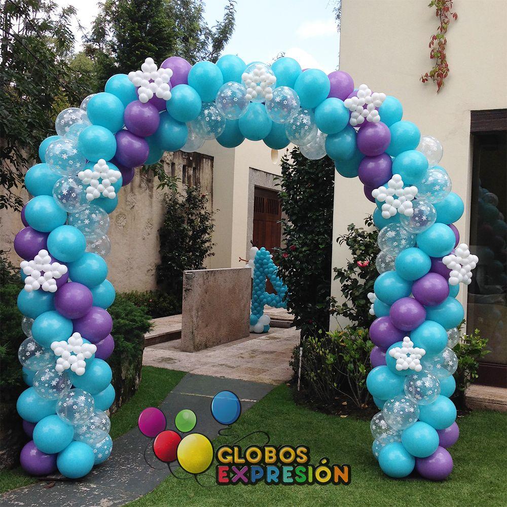 Decoracion de navidad con globos google search arcos for Decoracion con globos precios