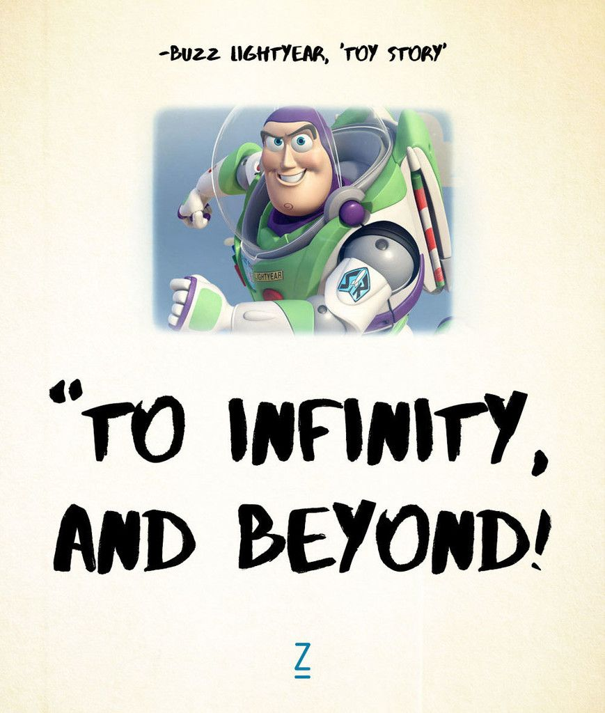 From 'Toy Story' Toy story quotes, Disney lessons