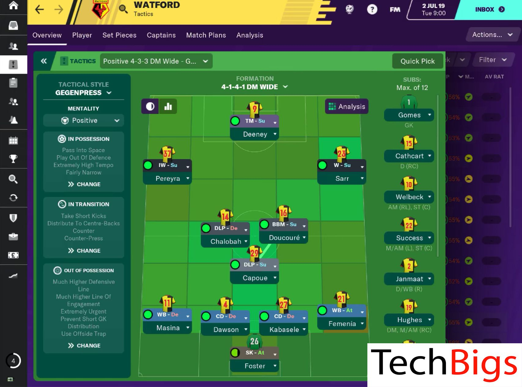 Football Manager 2020 Mod For Android Techbigs In 2020 Football Manager Game App Football