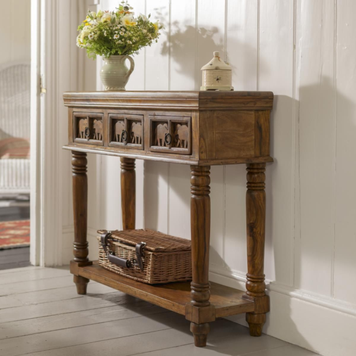 Hathi Console Table Console tables Consoles and Drawers