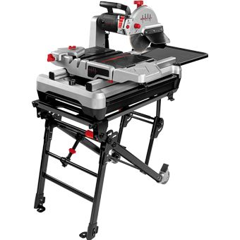 Wts950ln Beast Wet Tile Saw With Sliding Tray Contractors Direct Tile Saw Jet Woodworking Tools Woodworking Saws