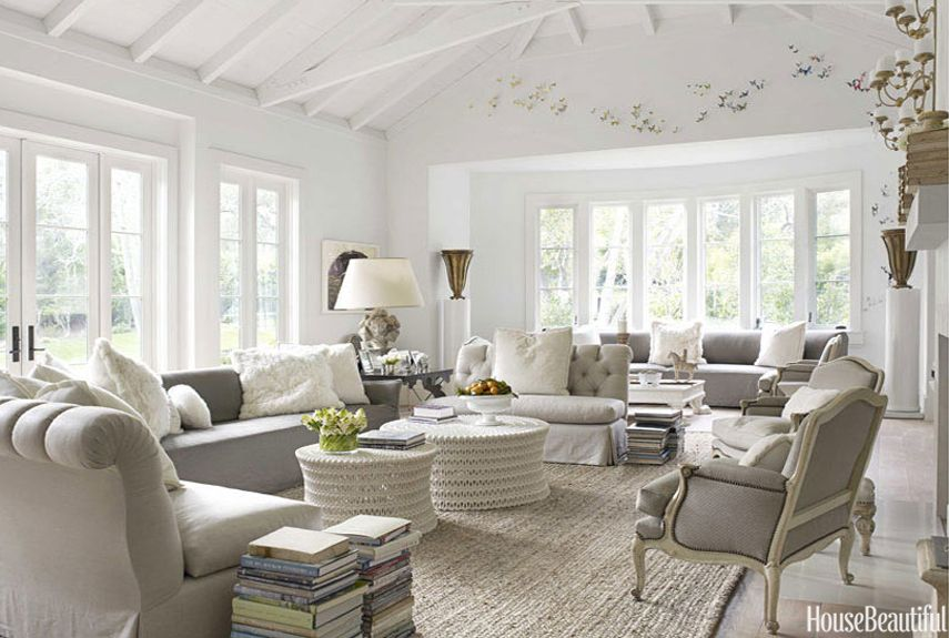 Superbe 35 Chic Gray Rooms That Are Anything But Boring