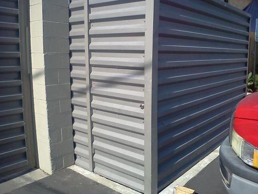 Bonderized Western Rib Corrugated Metal Metal Siding Metal Panels Front Yard Fence