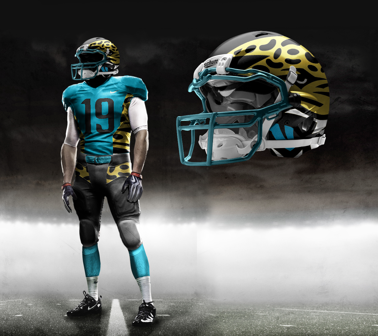 reputable site 62a92 15ea5 New Nike NFL Uniforms; Jacksonville Jaguars 2012 | Jaguars ...