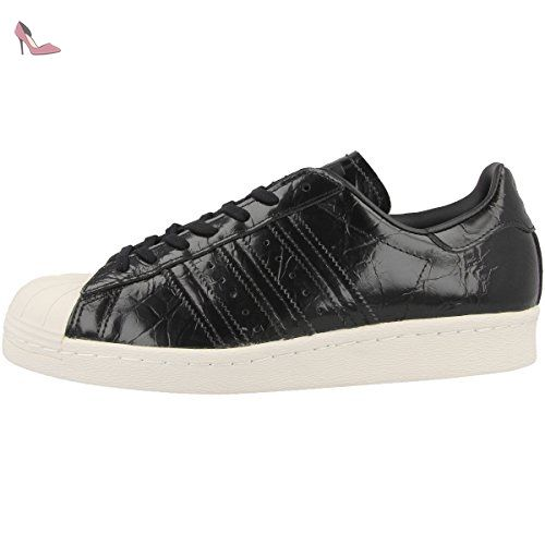 save off d3ac3 ea732 adidas Originals Superstar 80s W, core blackcore blackoff white, 3