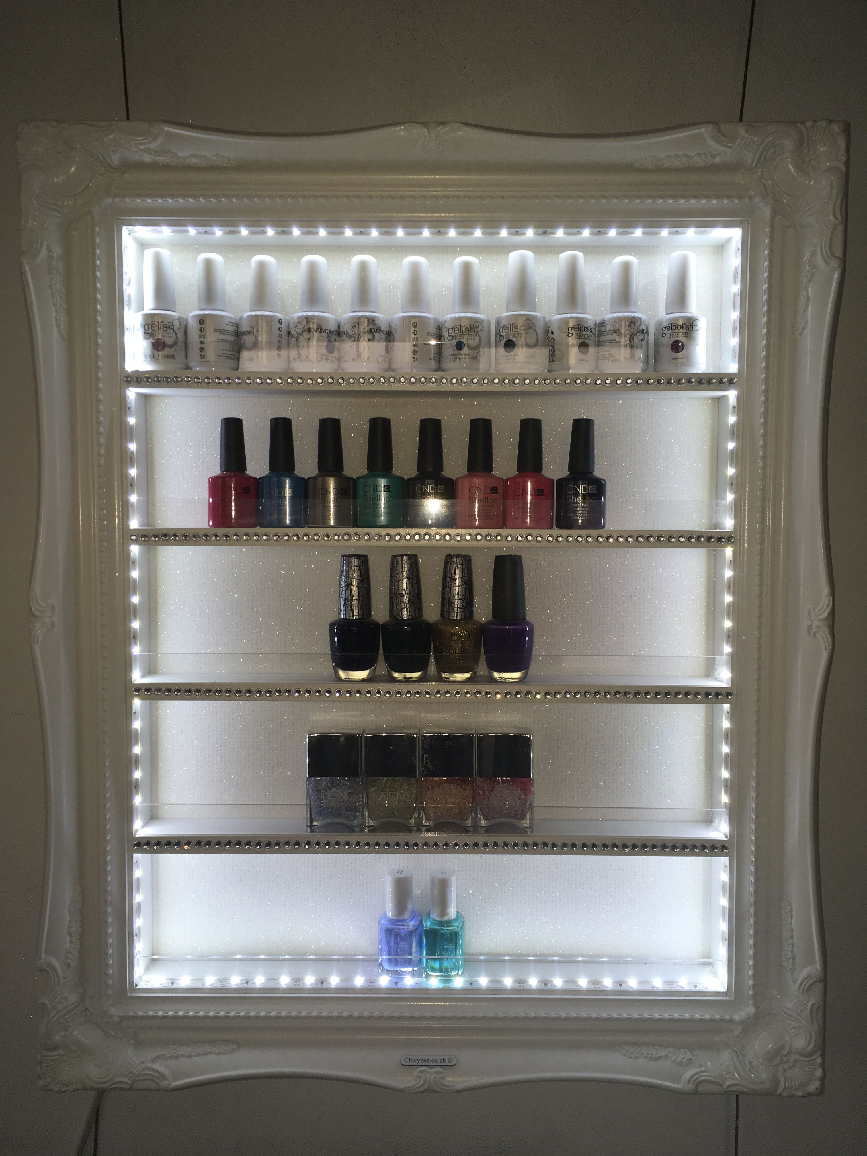 Pin by chicybee display frames on Salon Interiors and Decor ...