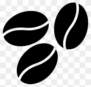 Coffee Bean Clipart Black And White Png Download Coffee Beans Clipart Black And White Transparent Png Clipart Black And White Clip Art Coffee Beans