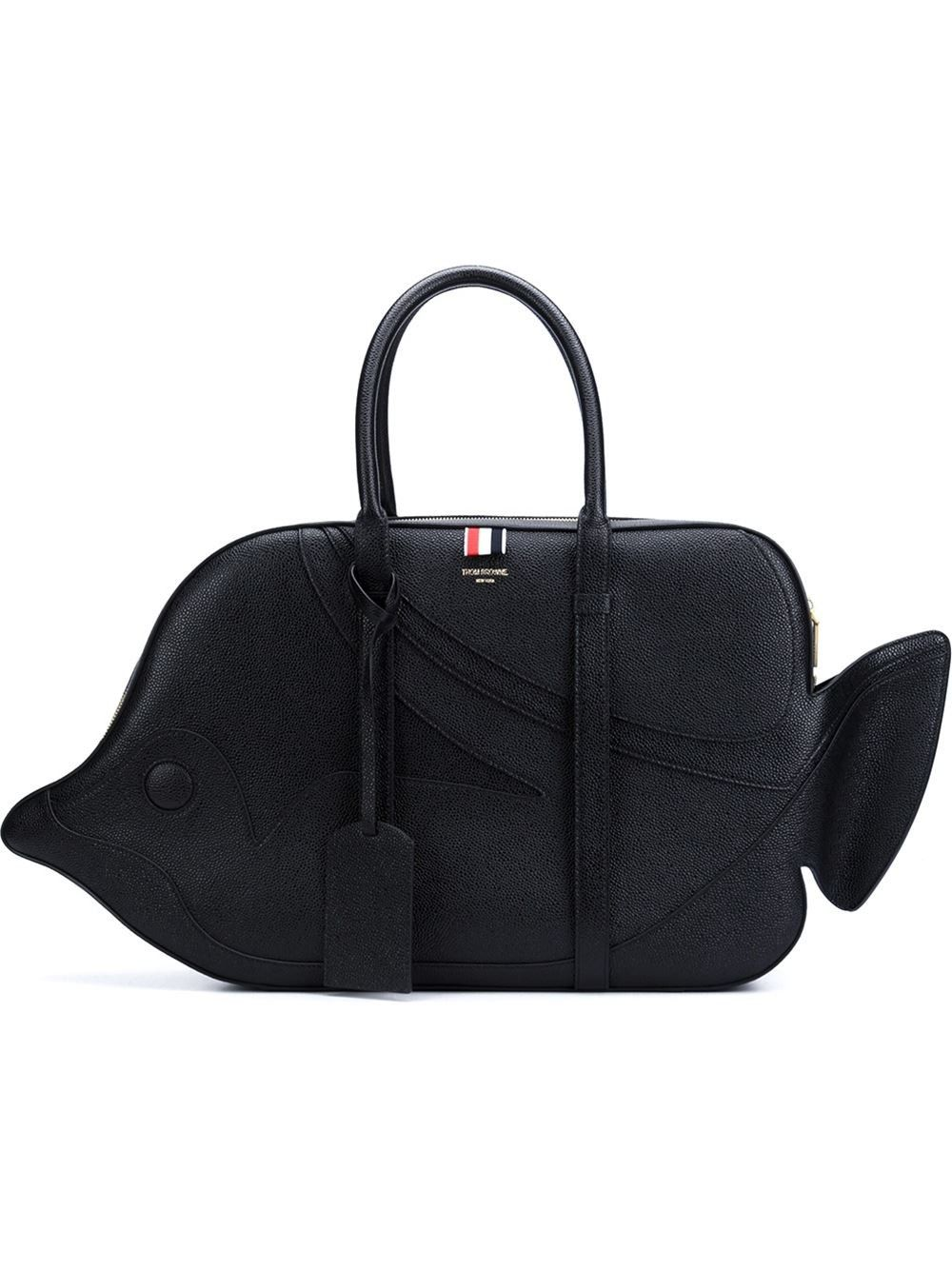e14f558c89 THOM BROWNE 'Tiger Reef Fish' Bag. #thombrowne #bags #leather #hand bags #
