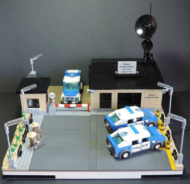 "Module ""Police station"" from the series ""Suburb"" 