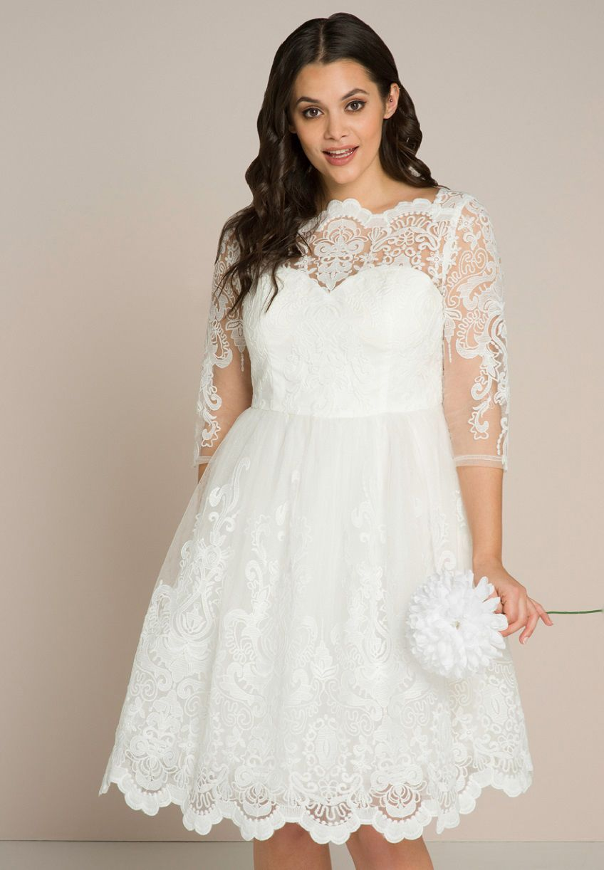 How to Find a Plus Size Wedding Dress for Under £150 · Rock ...