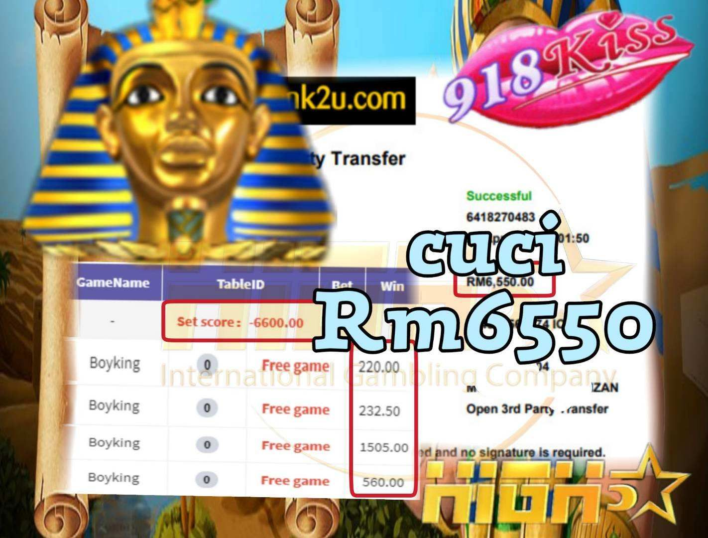 918kiss Boyking slot Free game Bigwin Again Tahniah boss