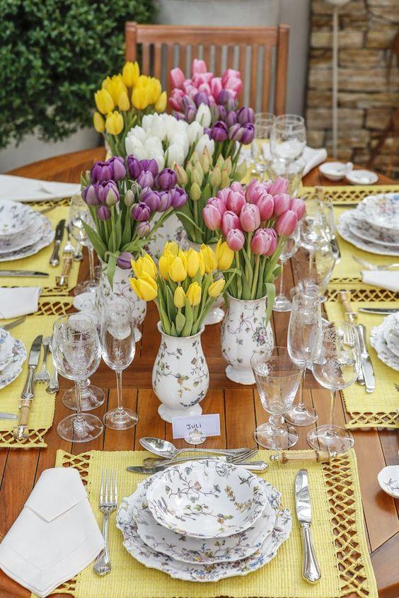 As belezas decorativas de um mesa bem posta! | Tablescapes ...