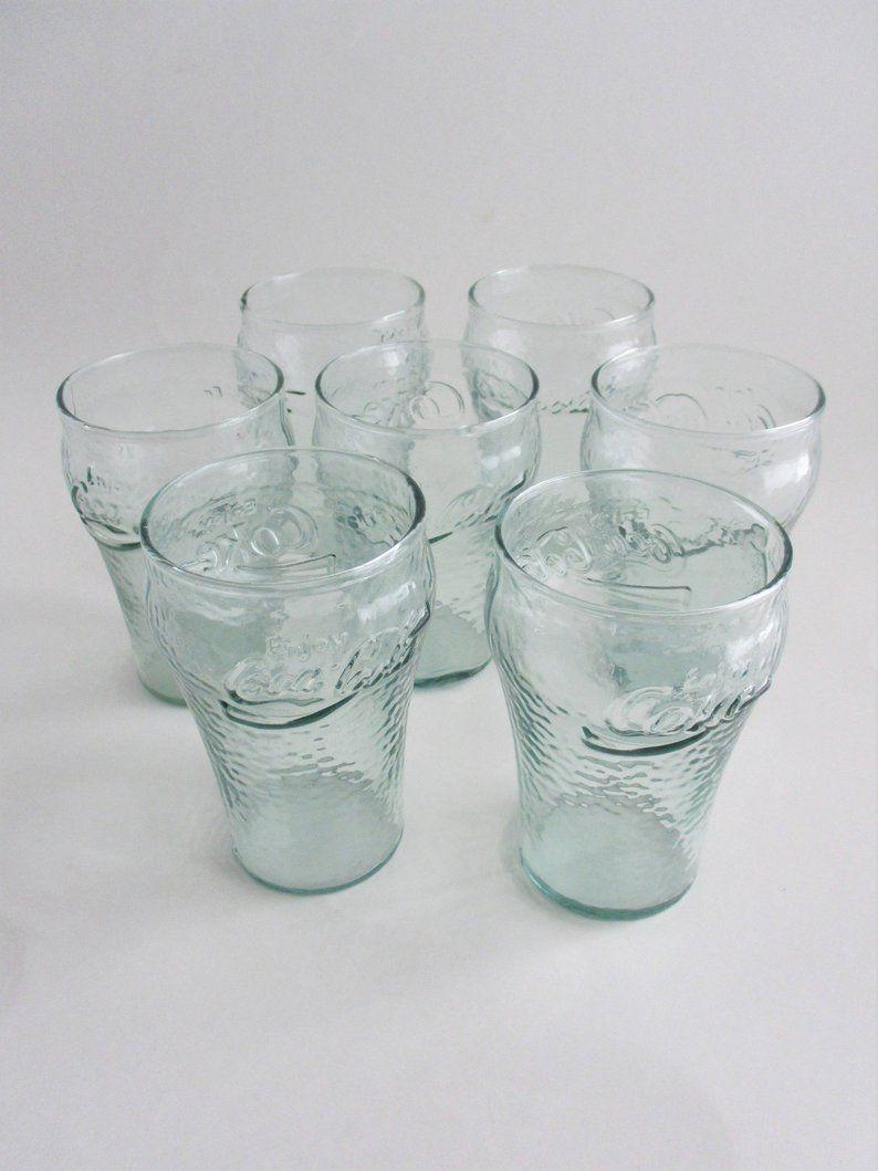 COCA COLA COKE COLLECTABLE  GLASS TUMBLER