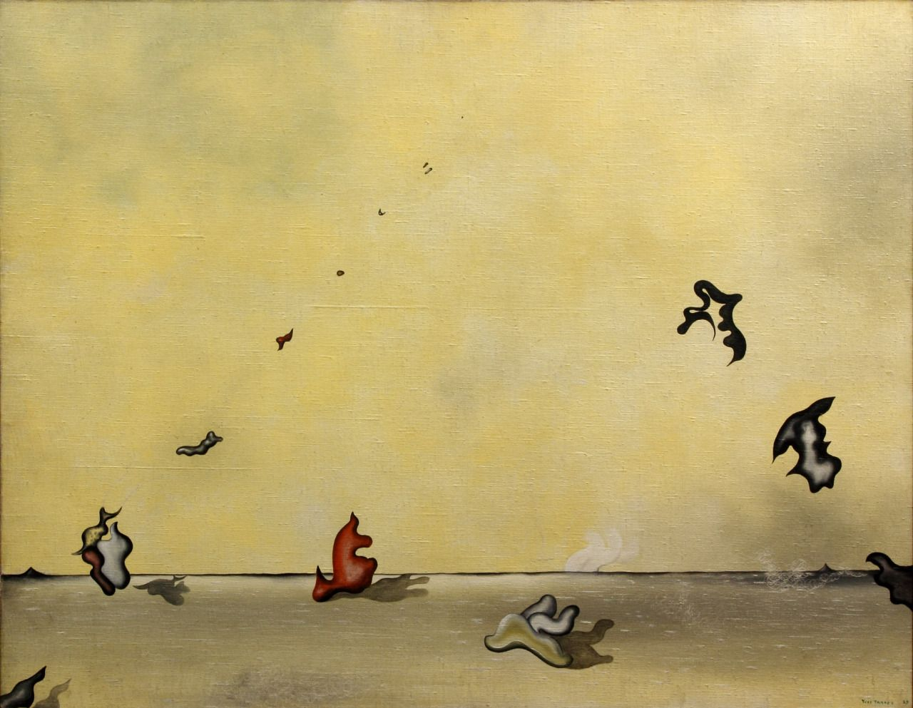 Yves Tanguy (French, 1900 - 1955) Your candles move (Tes Bougies ...
