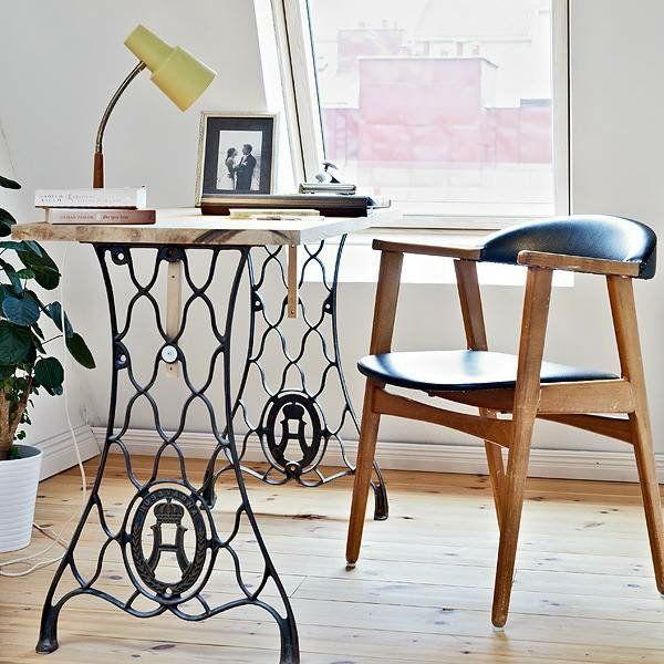 alte m bel neu gestalten die alte n hmaschine als vintage m bel diy einrichtung pinterest. Black Bedroom Furniture Sets. Home Design Ideas