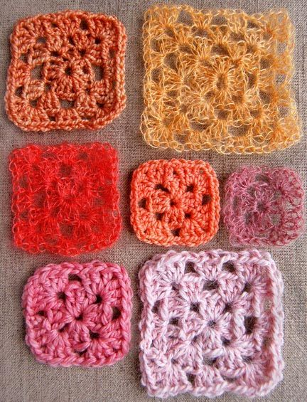 Clasical Granny square tutorial by Purl Bee. Crochet. Inglés ...