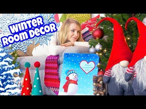 Diy Room Decor 10 Diy Projects For Winter Christmas Decorating Ideas For A Frozen Room Christmas Room Decor Diy Christmas Tree Pillow Diy Room Decor