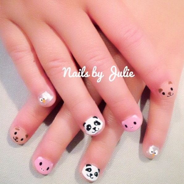 This little piggy went to the nail salon gotta keep your #kids nails ...