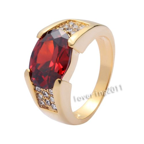 Ruby For Mens Fashion Ring Design Gold Rose Plate Finger Women Rings Jewelry Clear Aaa Swiss Zircon Top 15 Designs