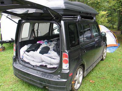 Camping In The Xb Part Duex Scionlife Com Scion Xb Toyota Scion Xb Suv Camping
