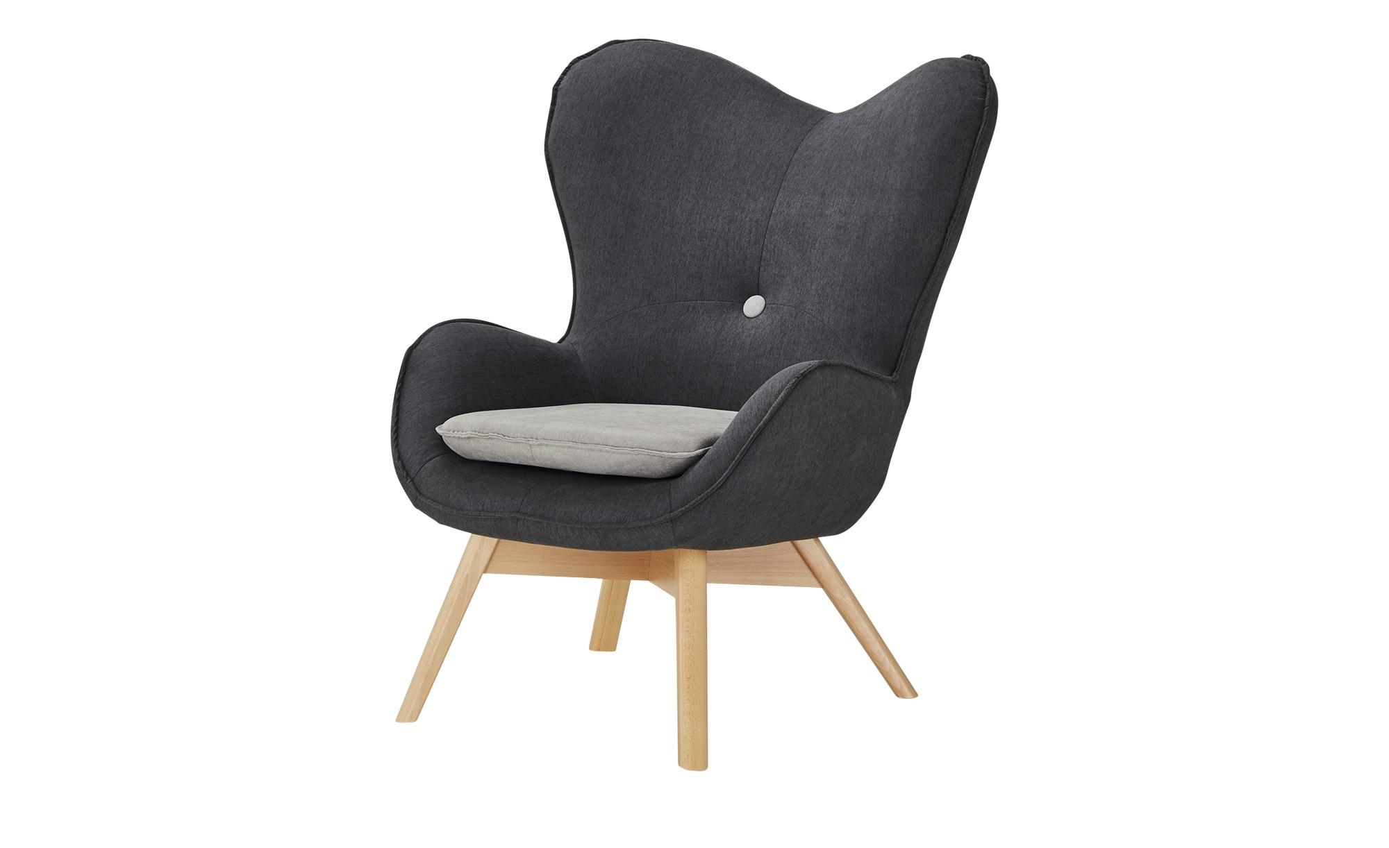 Sessel Maxi Grau Maße Cm B 86 H 100 T 92 Polstermöbel Sessel Ohrensessel Höffner Sessel Ohrensessel Xxl Sessel