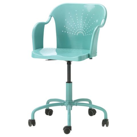 Roberget Swivel Chair Turquoise Ikea Ikea Chair Office