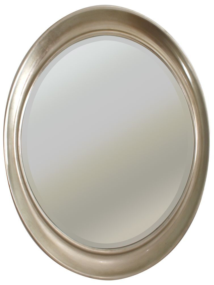 RV Astley Antique Silver Oval Mirror   cool frames   Pinterest ...