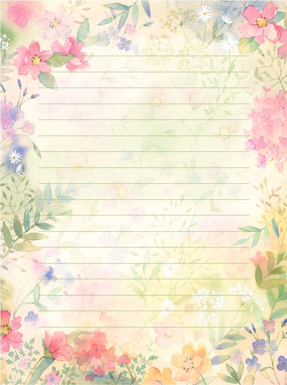 La Página de Inesita: Bonitas plantillas para cartas | imagen ...
