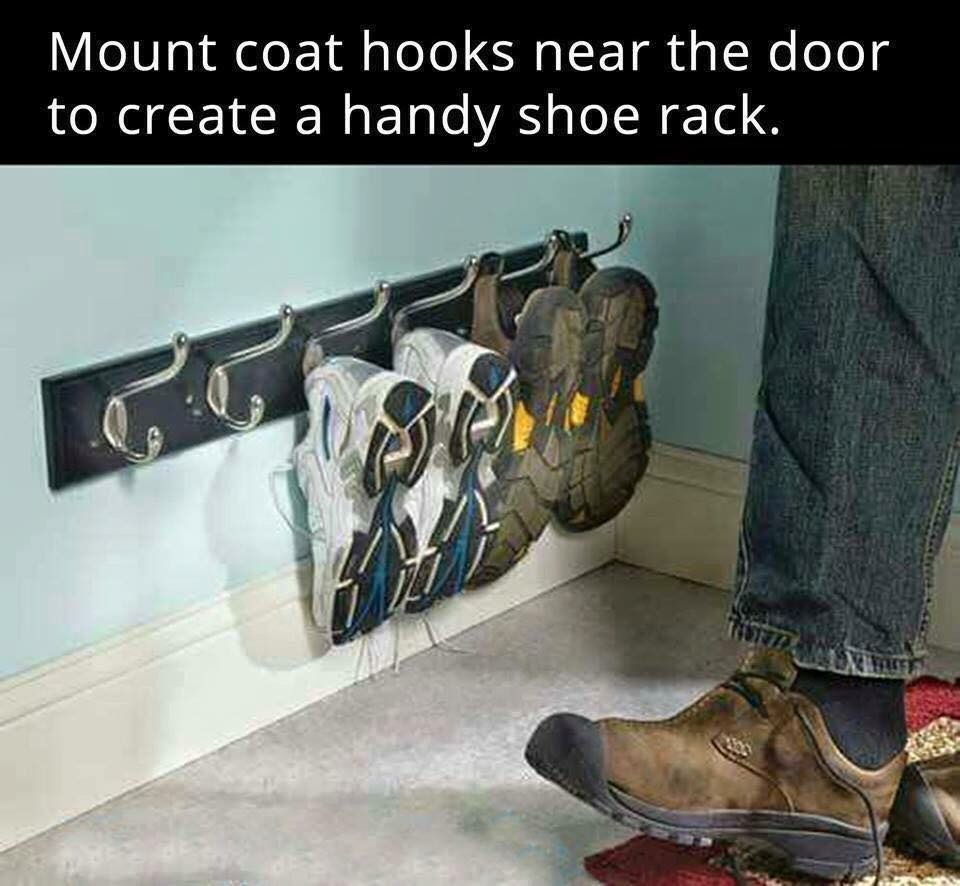 Coat Hanger With Images Shoe Storage Organization Home