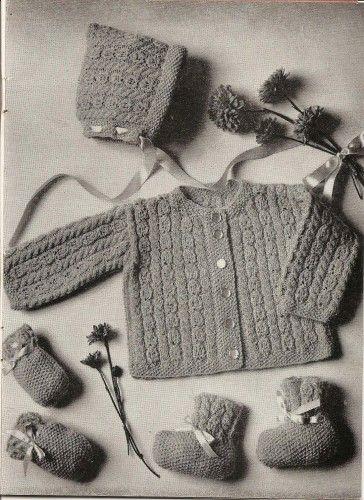 Old school baby-layette-dress-crochet? | Innocence-ology | Pinterest