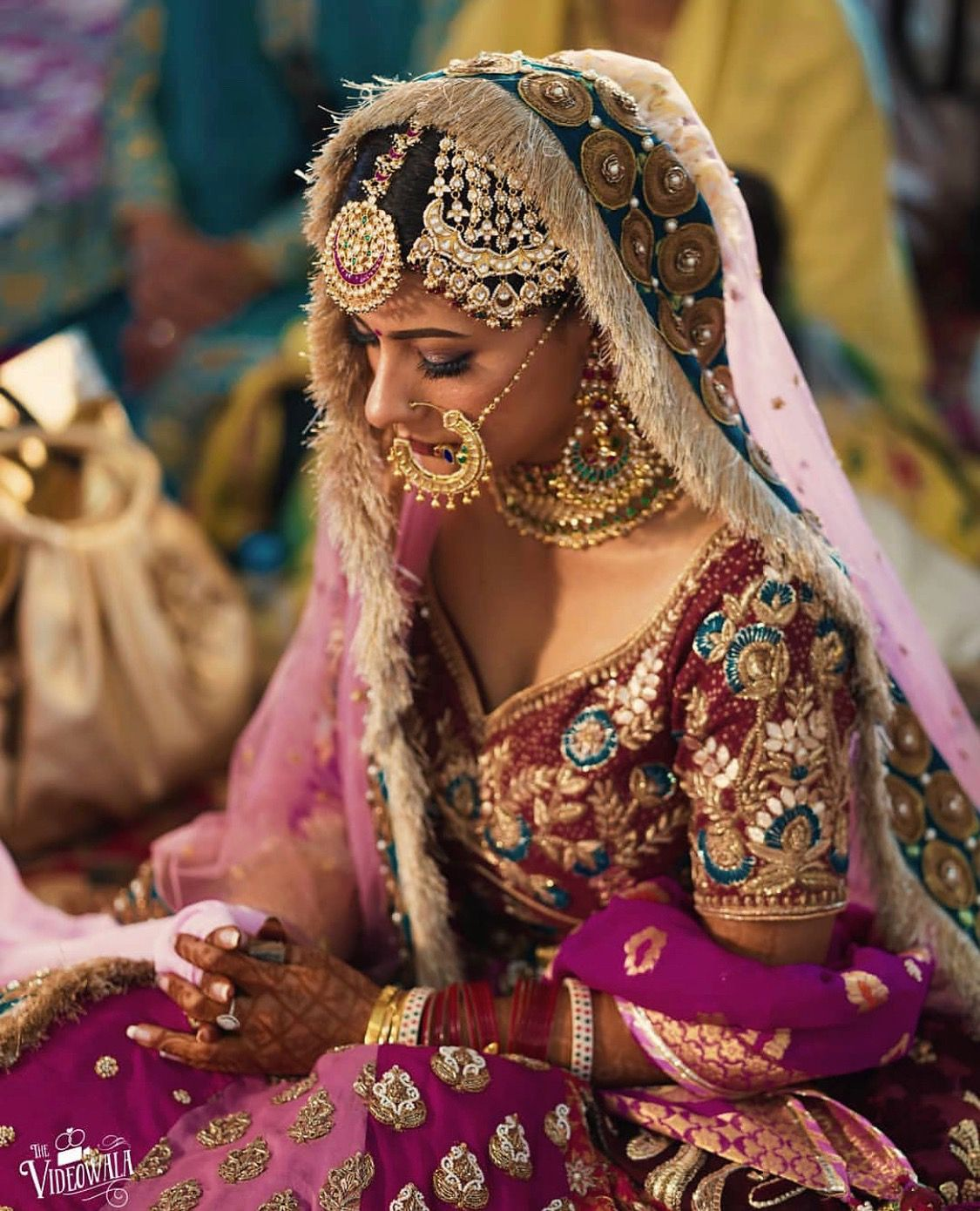 this traditional #punjabi bridal look is everything
