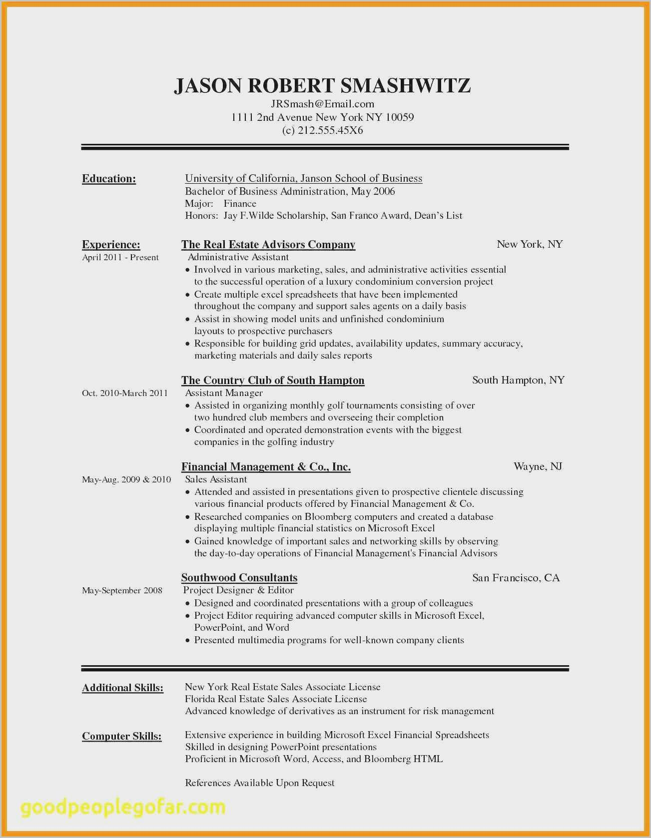 How To Find And Create A Resume Template In Microsoft Word