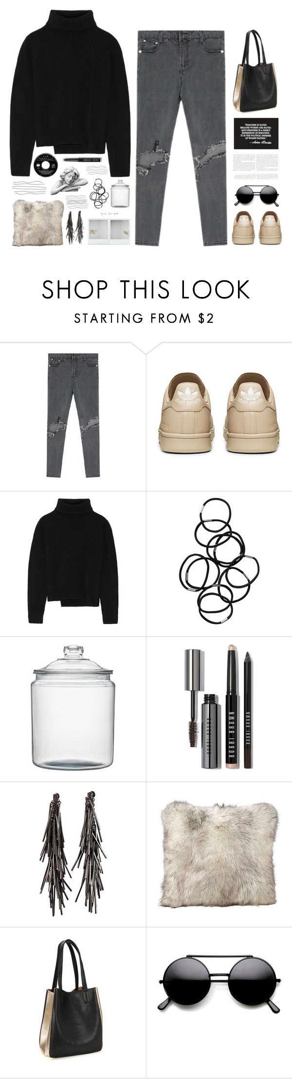 """Anti-Feminism = the political defense of women-hating"" by duciaxoxo ❤ liked on Polyvore featuring Proenza Schouler, Monki, Crate and Barrel, Bobbi Brown Cosmetics and Eddie Borgo"