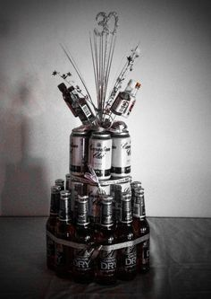 Image result for 45th male red black silver themed birthday party